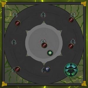 После убийства всех Темная душаначинается третья фаза боя.