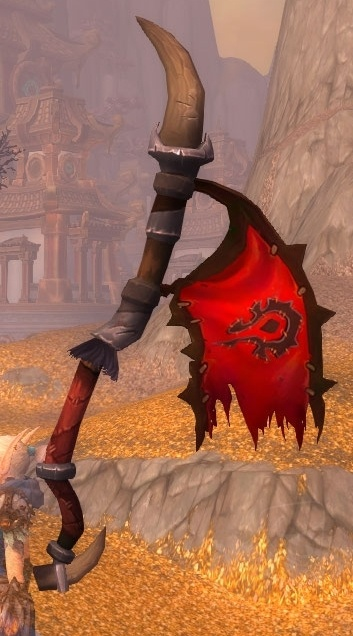 What Color Is Buff >> Esteemed Pennant - Item - World of Warcraft