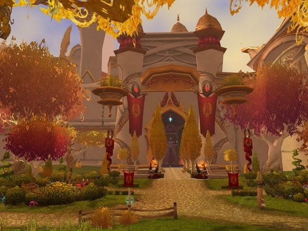 Silvermoon City - Zone - World of Warcraft