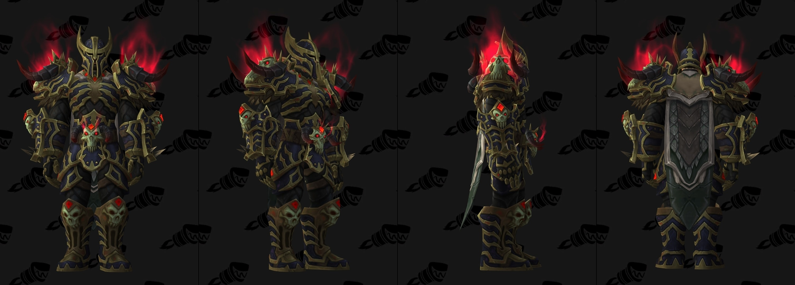 tier 21 armor sets in wowhead u0027s dressing room and modelviewer