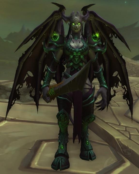 Demonic Gladiator Tabard Wrong Appearance World Of Warcraft Forums