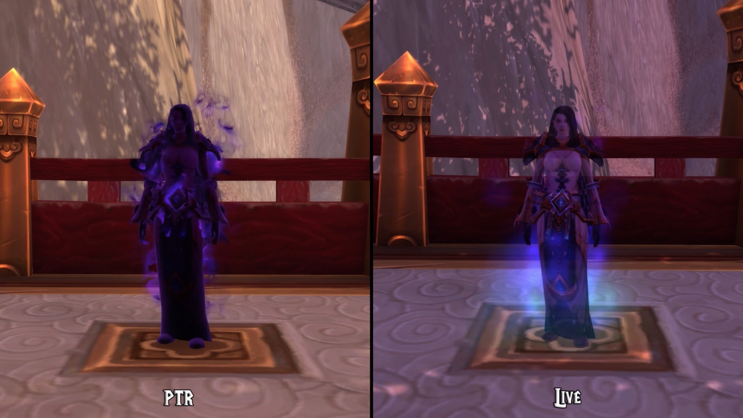 Shadow Priest Updated Caster Spell Animations in Patch 7.3 ...