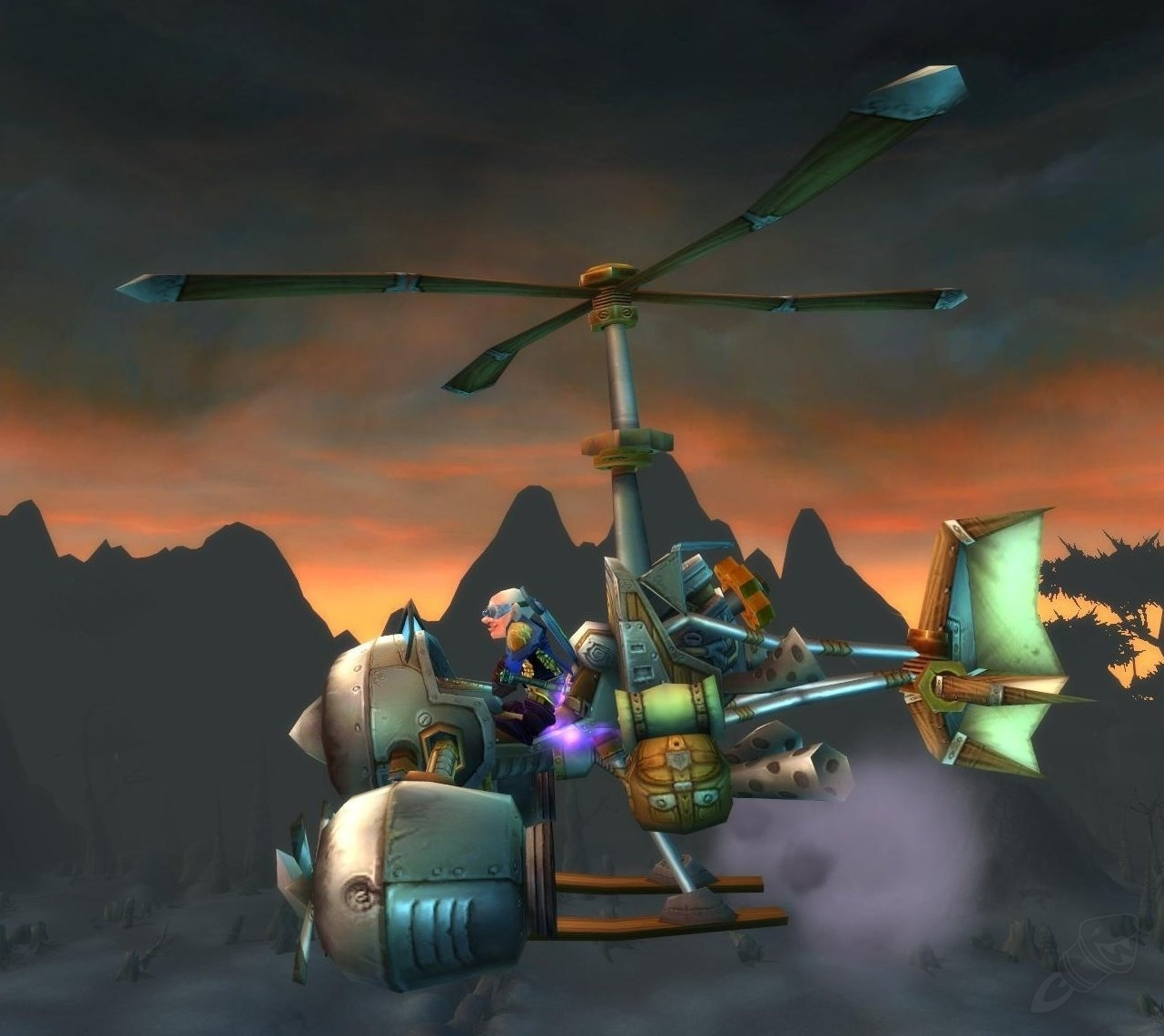 Flying Machine Item World Of Warcraft