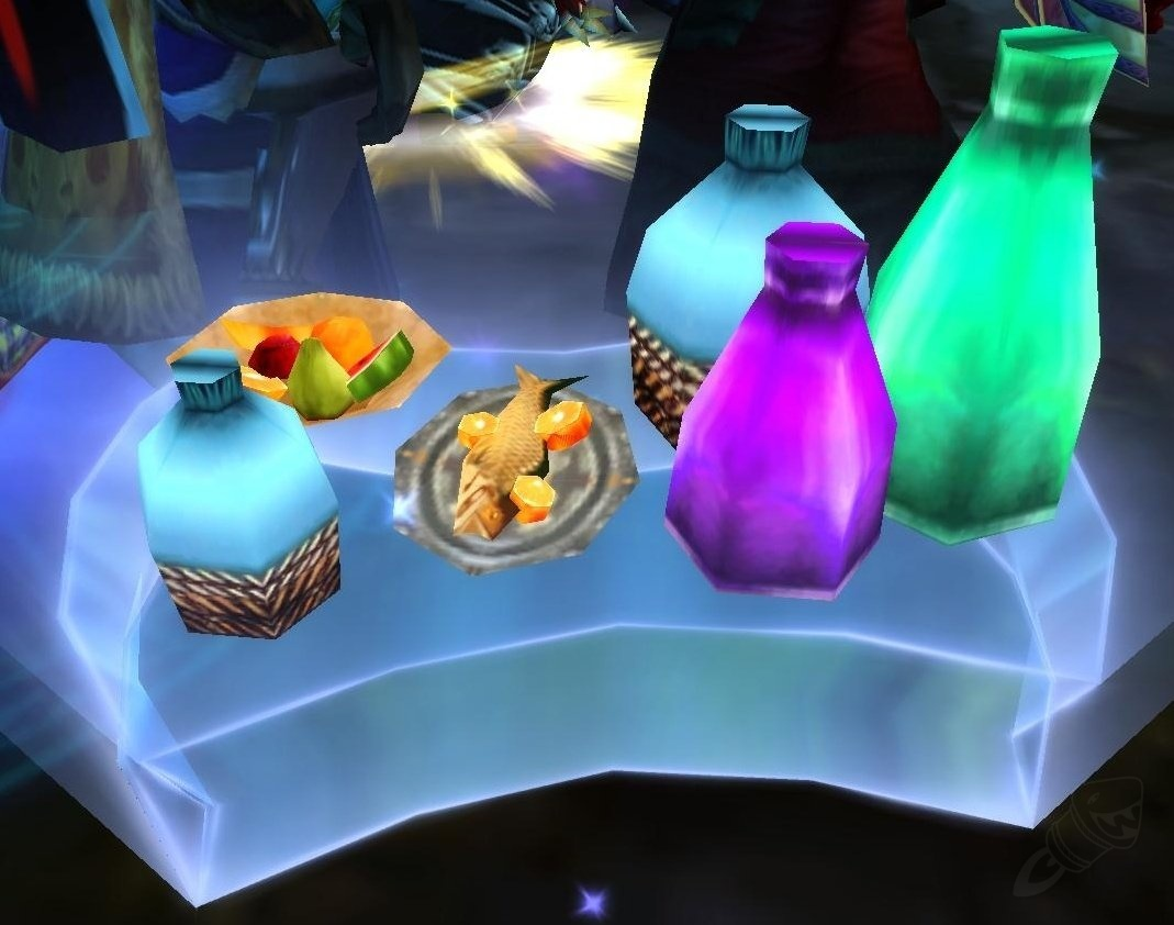 how to make a refreshment table as mage