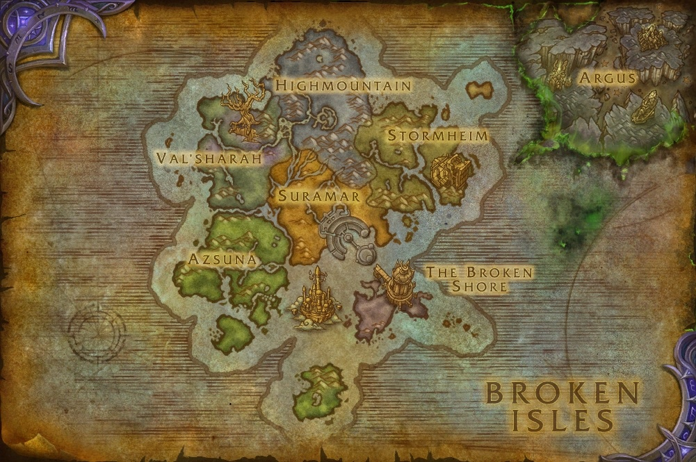 Argus should be on the world map world of warcraft forums gumiabroncs Choice Image