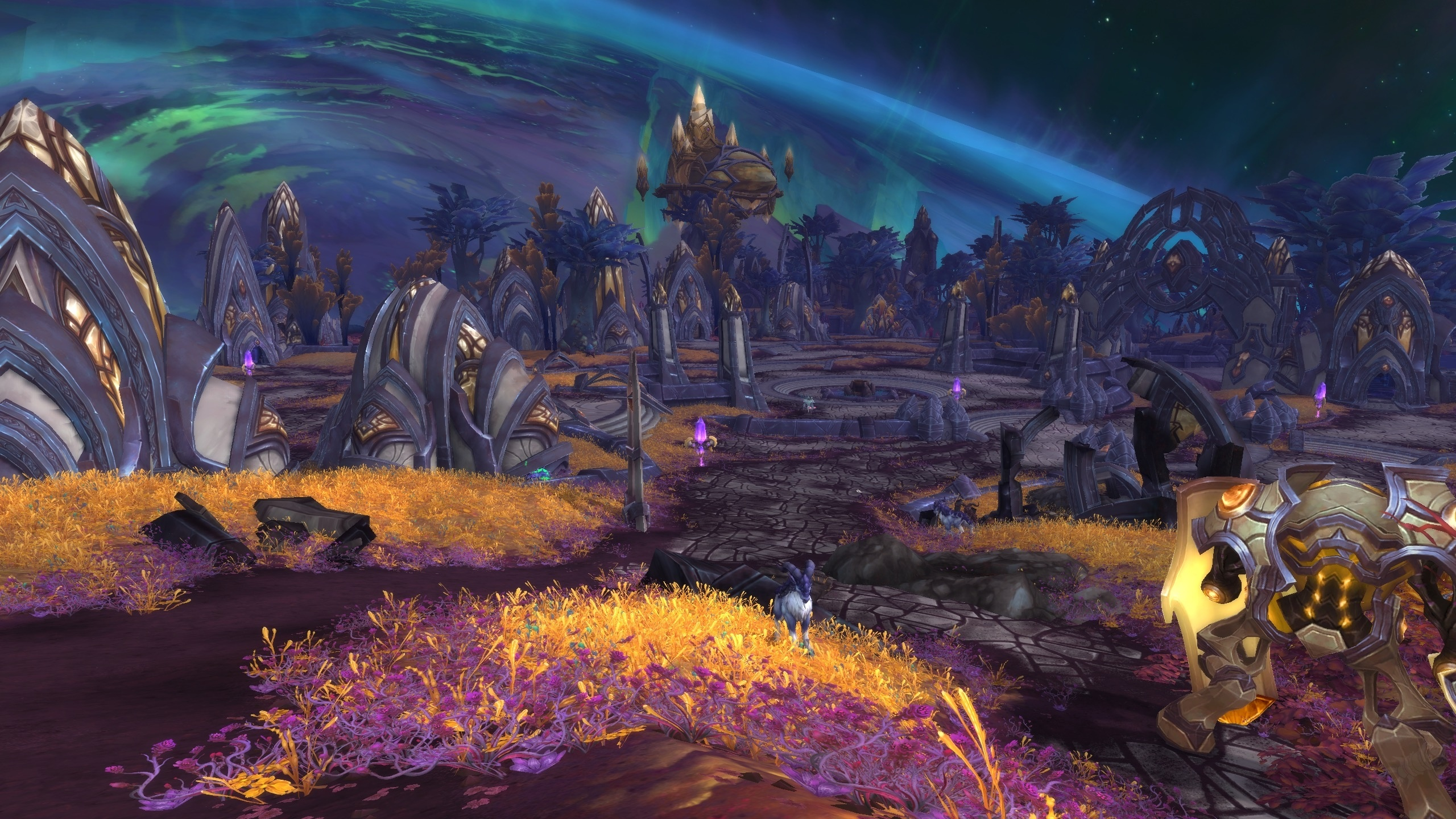 Mac'aree zone world of warcraft.