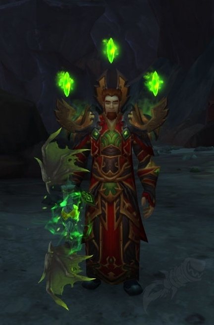 glyph of fel touched shards item world of warcraft