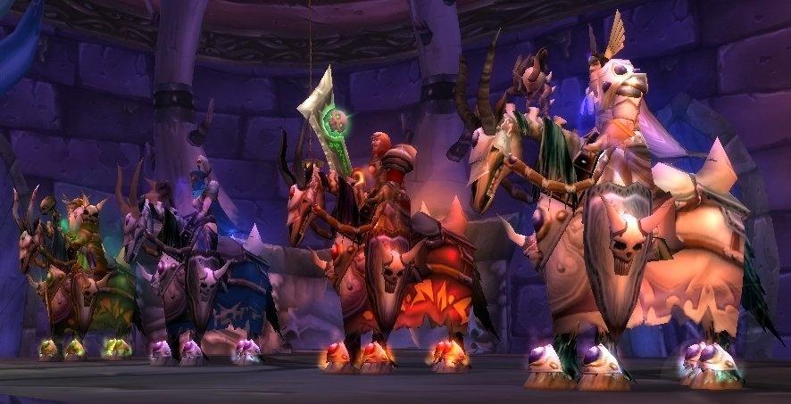 Truhe der vier Reiter - Objekt - World of Warcraft