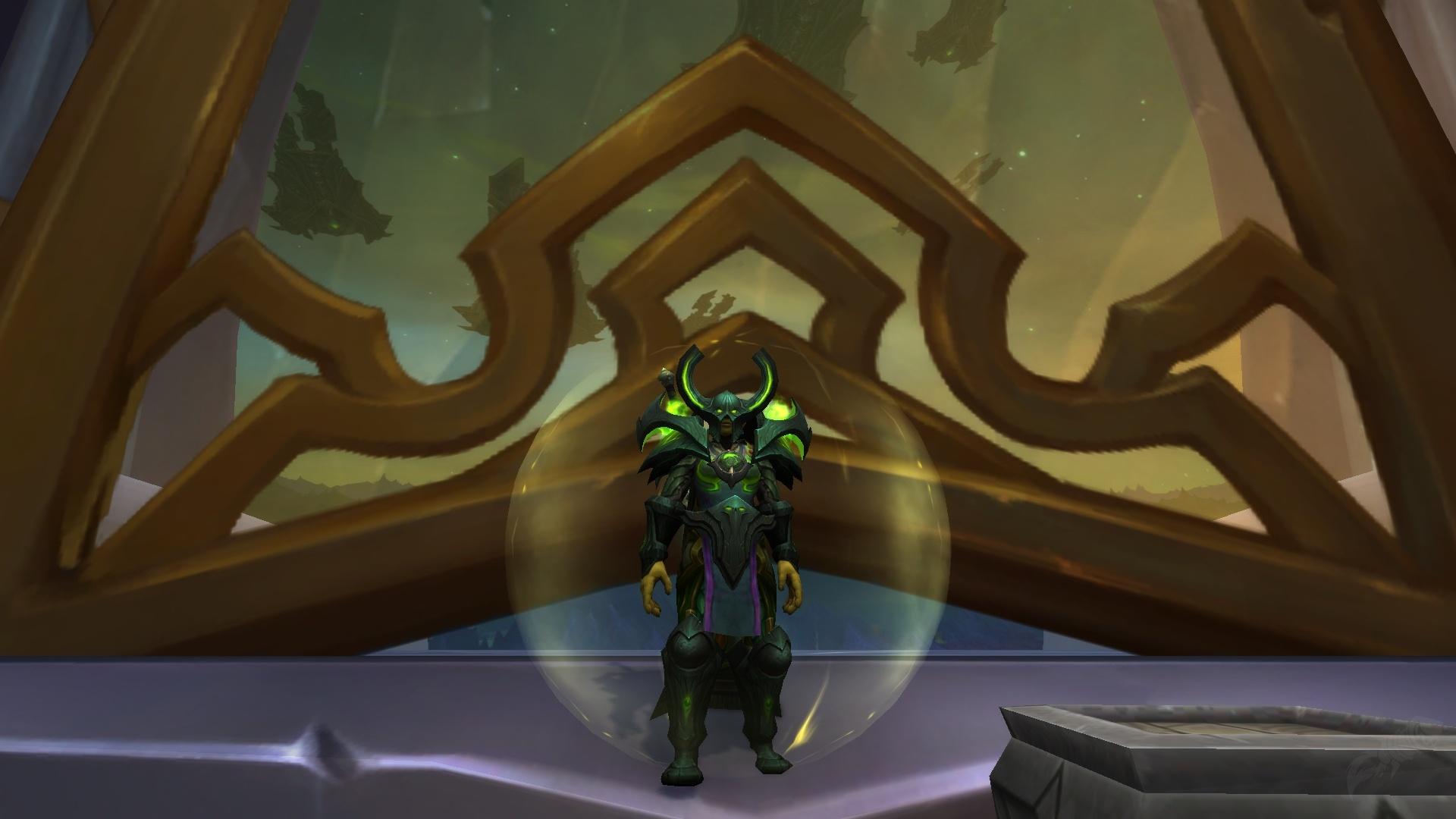 Helm Des Weltenentweihers Gegenstand World Of Warcraft