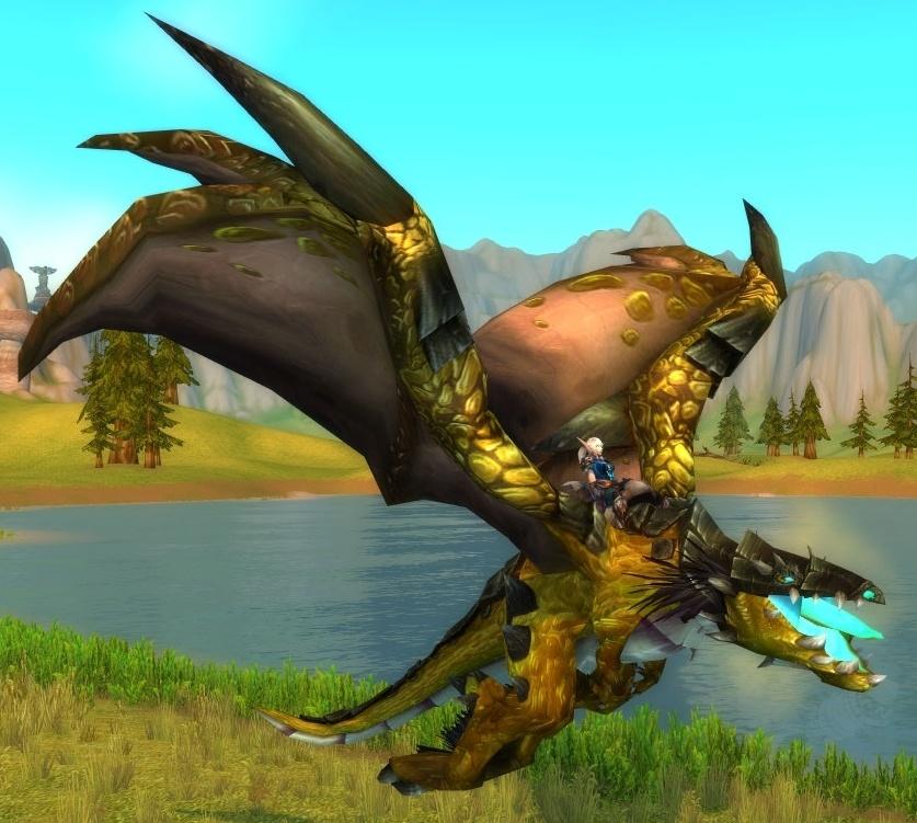 Rédeas do Protodraco Perdido no Tempo - Item - World of Warcraft