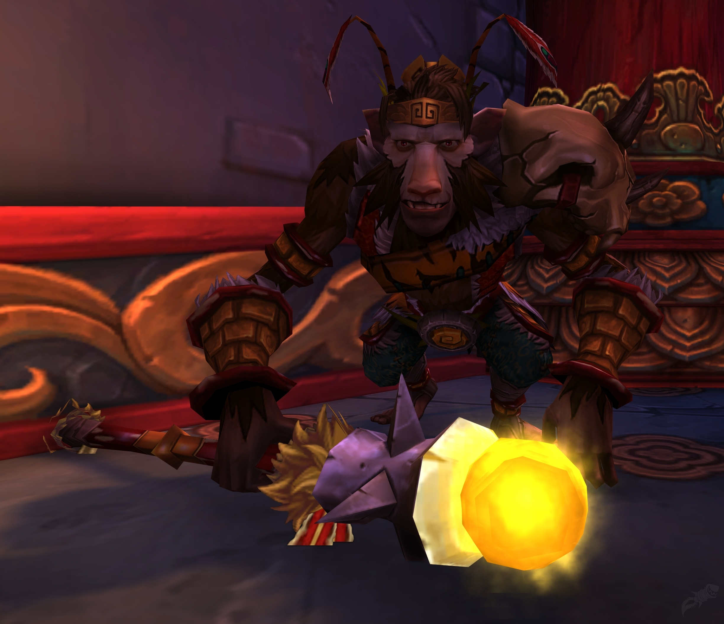 Champion The Monkey King Quest World Of Warcraft