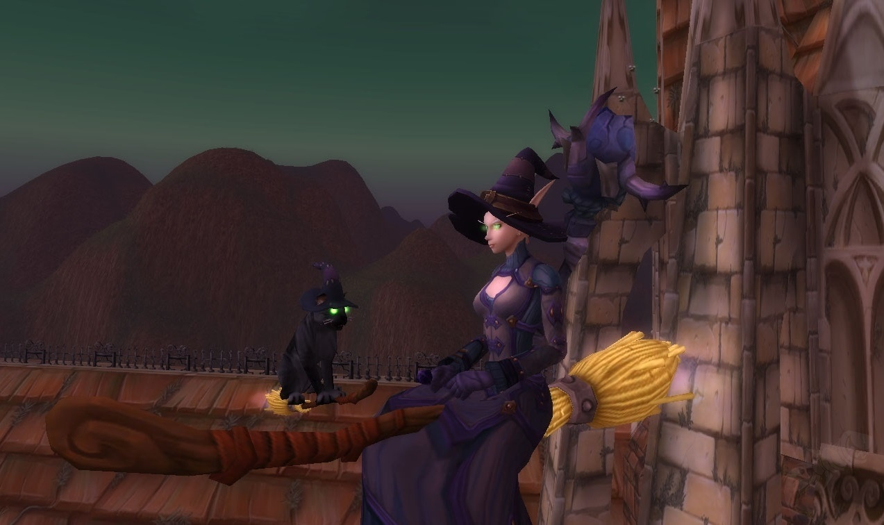 Magic Broom - Item - World of Warcraft