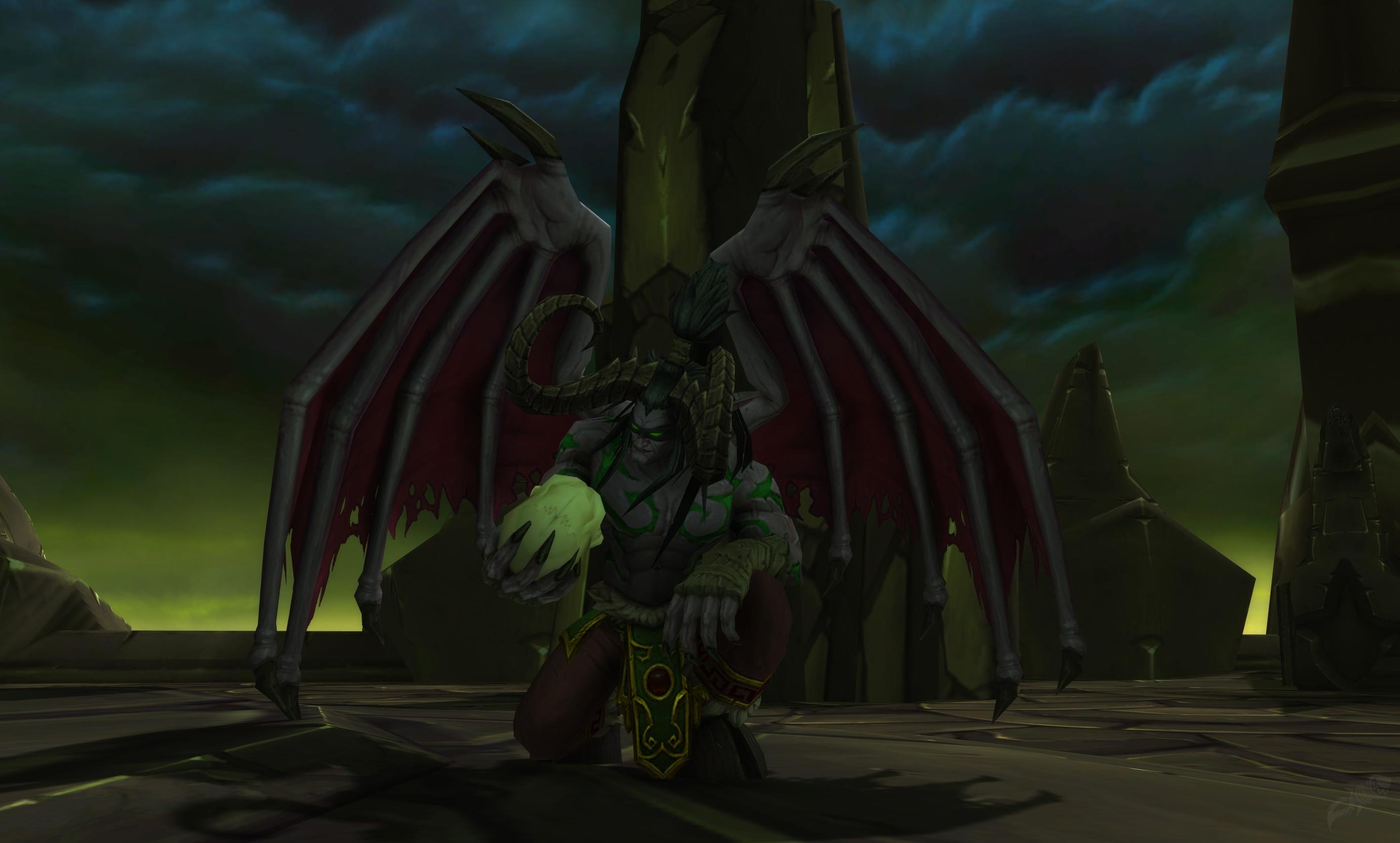 Störung Entdeckt Schwarzer Tempel Quest World Of Warcraft