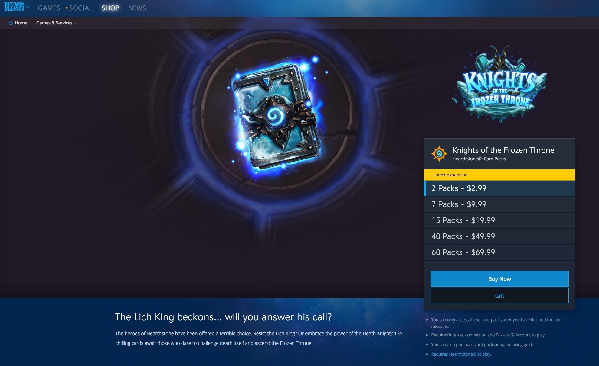 Gifting Now Available to BattleTag Friends Through Blizzard