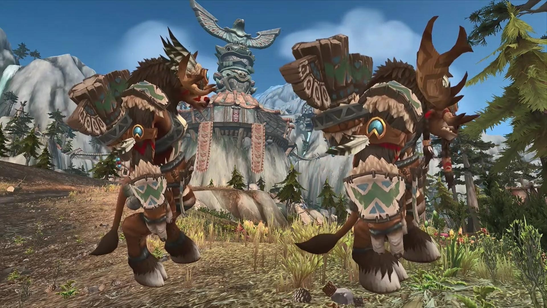 battle for azeroth races