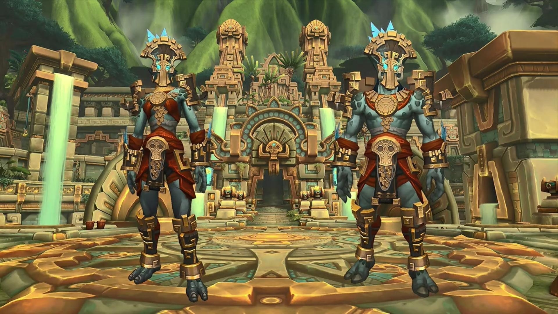 Armor and Tier Visual Design Philosophy in Battle for Azeroth