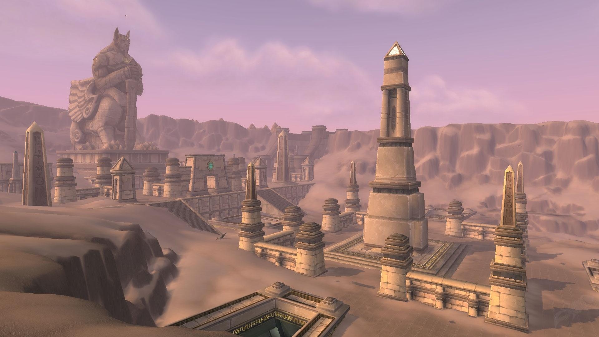 Uldum Zone World Of Warcraft