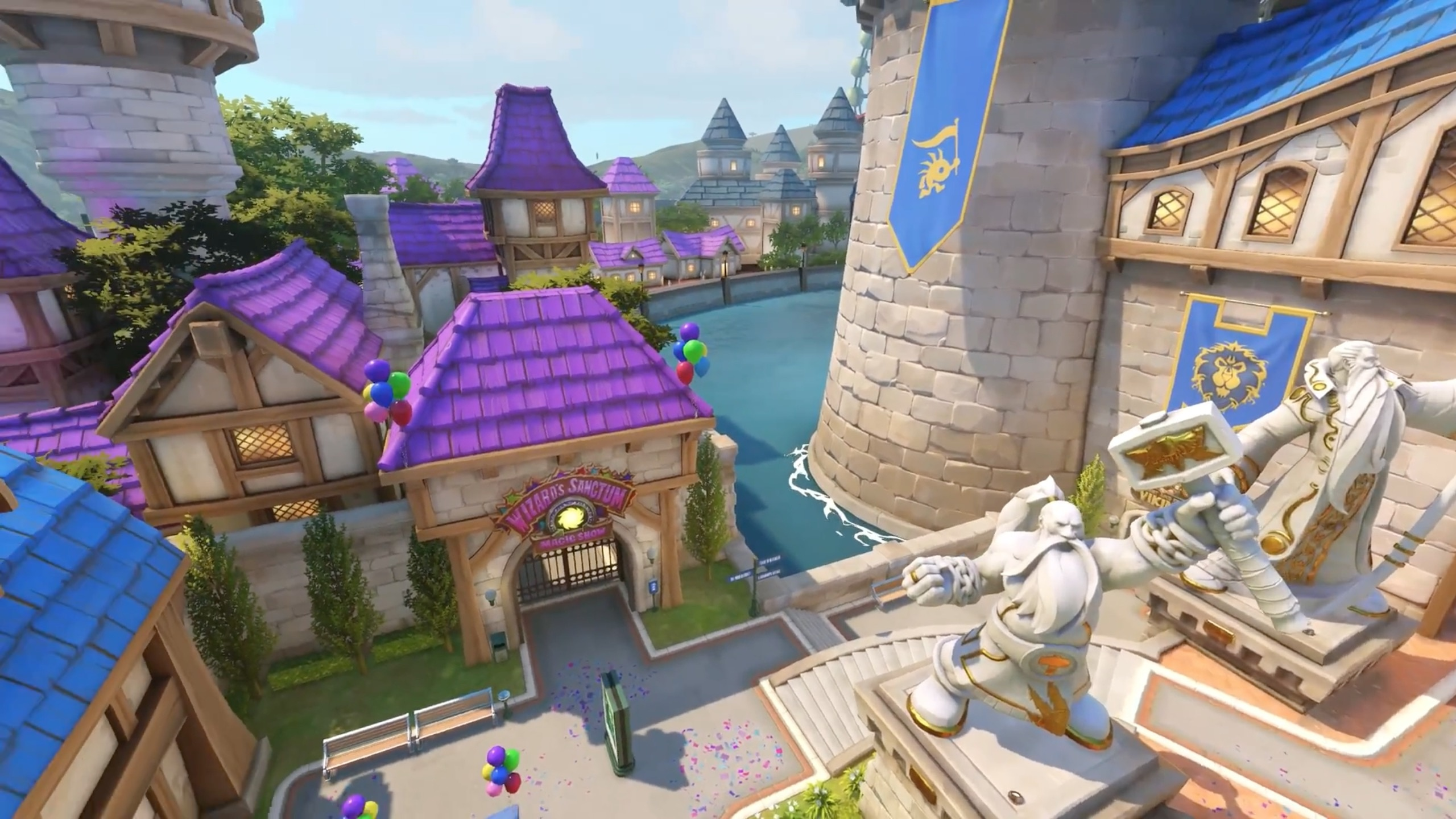 The Wow References In The Overwatch Blizzard World Map Wowhead News
