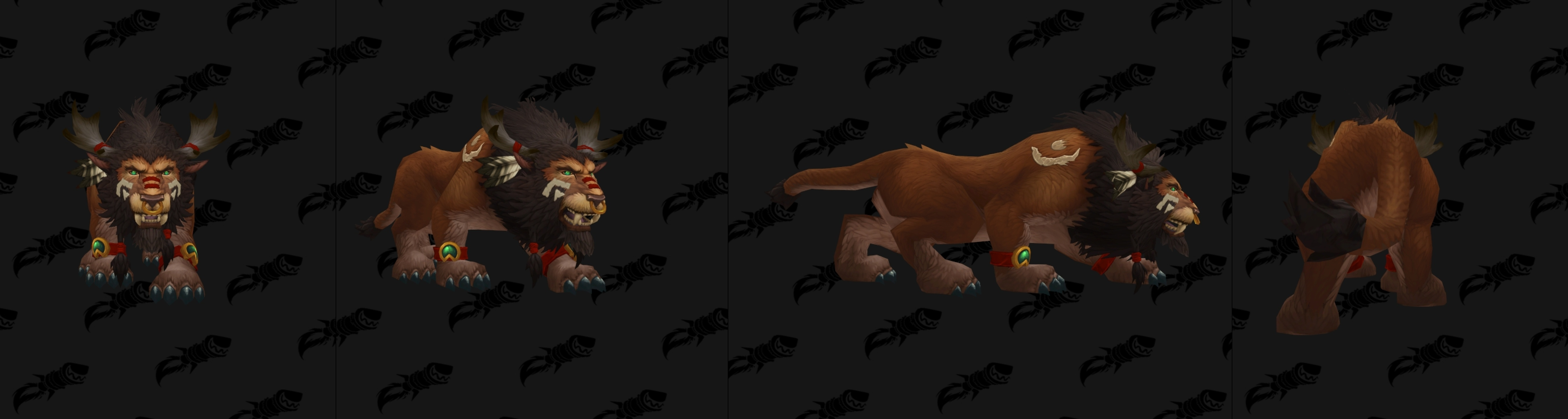 Highmountain tauren allied race druid forms totems and racial cat form nvjuhfo Choice Image