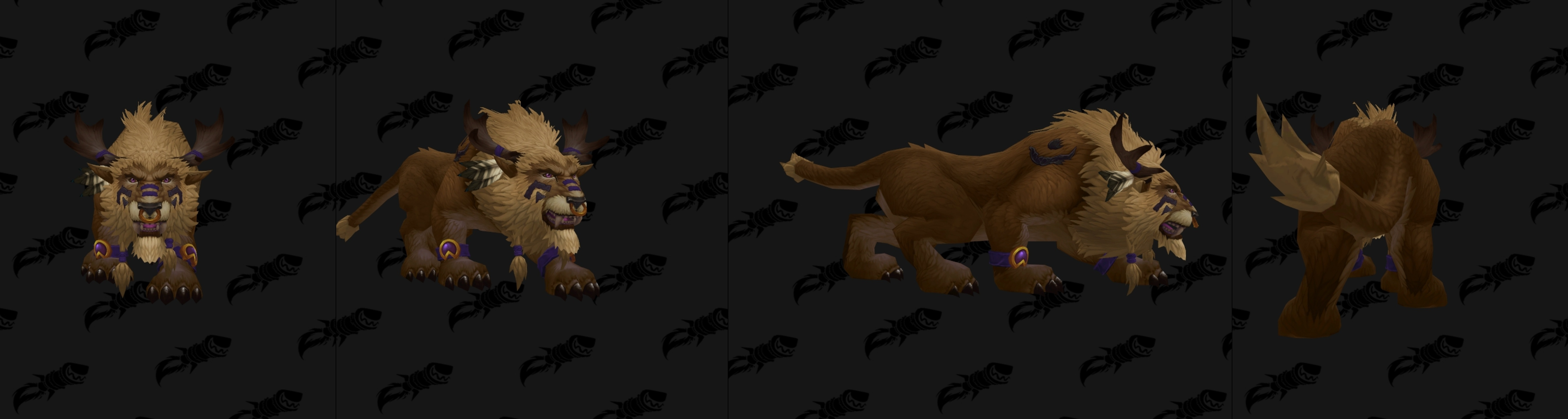 Highmountain tauren allied race druid forms totems and racial travel forms nvjuhfo Choice Image