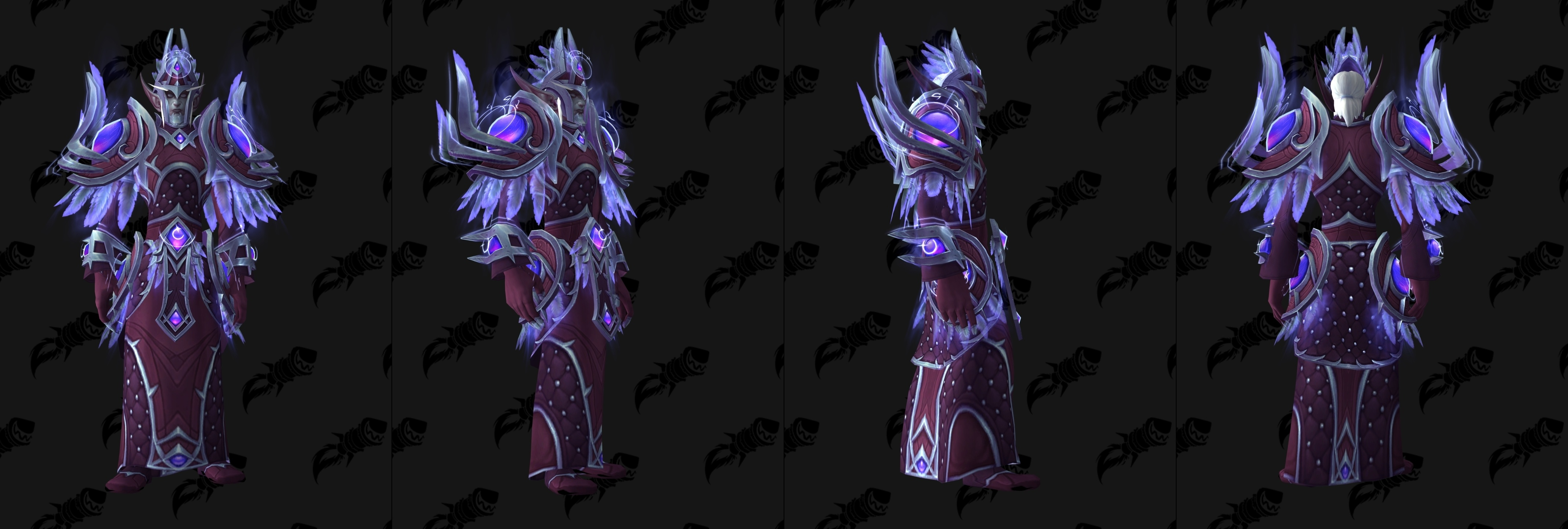 Heritage Armor Sets Guides Wowhead Female void elf heritage armor no longer clips with most hairstyles. heritage armor sets guides wowhead