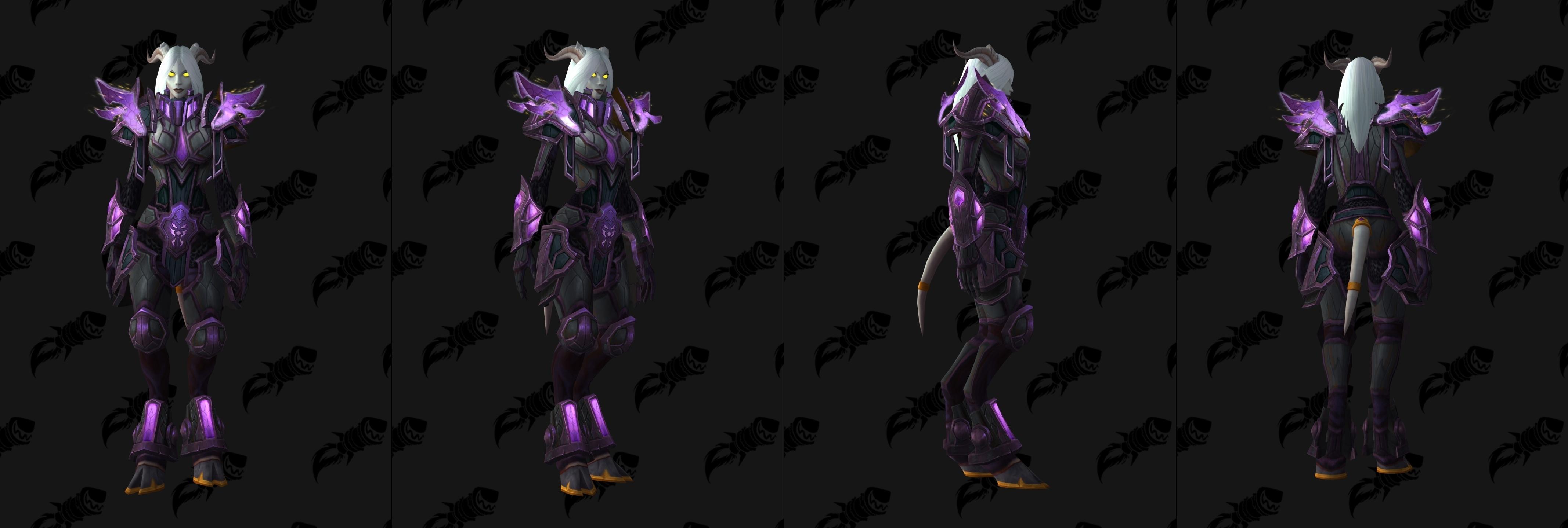 how to get void elf heritage set