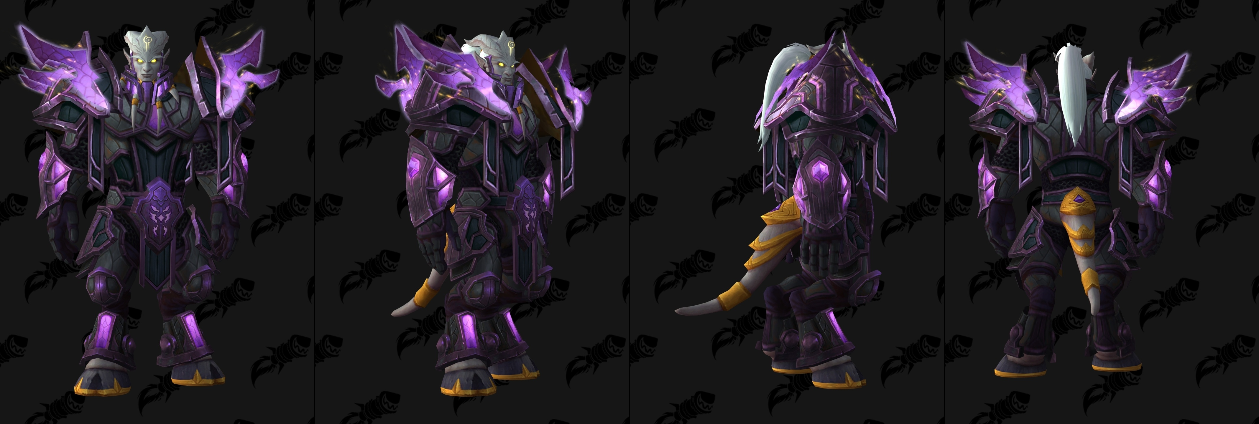7 3 5 Ptr Heritage Armor Set Models Wowhead News In order to get the set, you need to be exalted with the blood elves and your character must be at max level. 7 3 5 ptr heritage armor set models