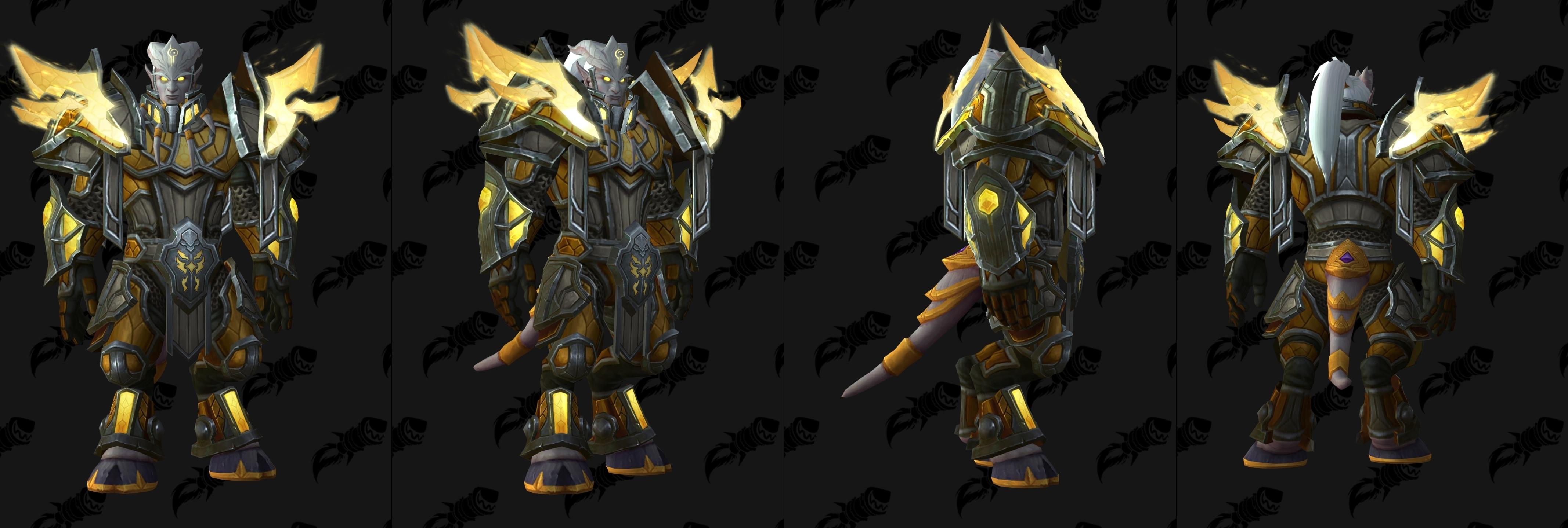 7 3 5 PTR - Heritage Armor Set Models - Wowhead News