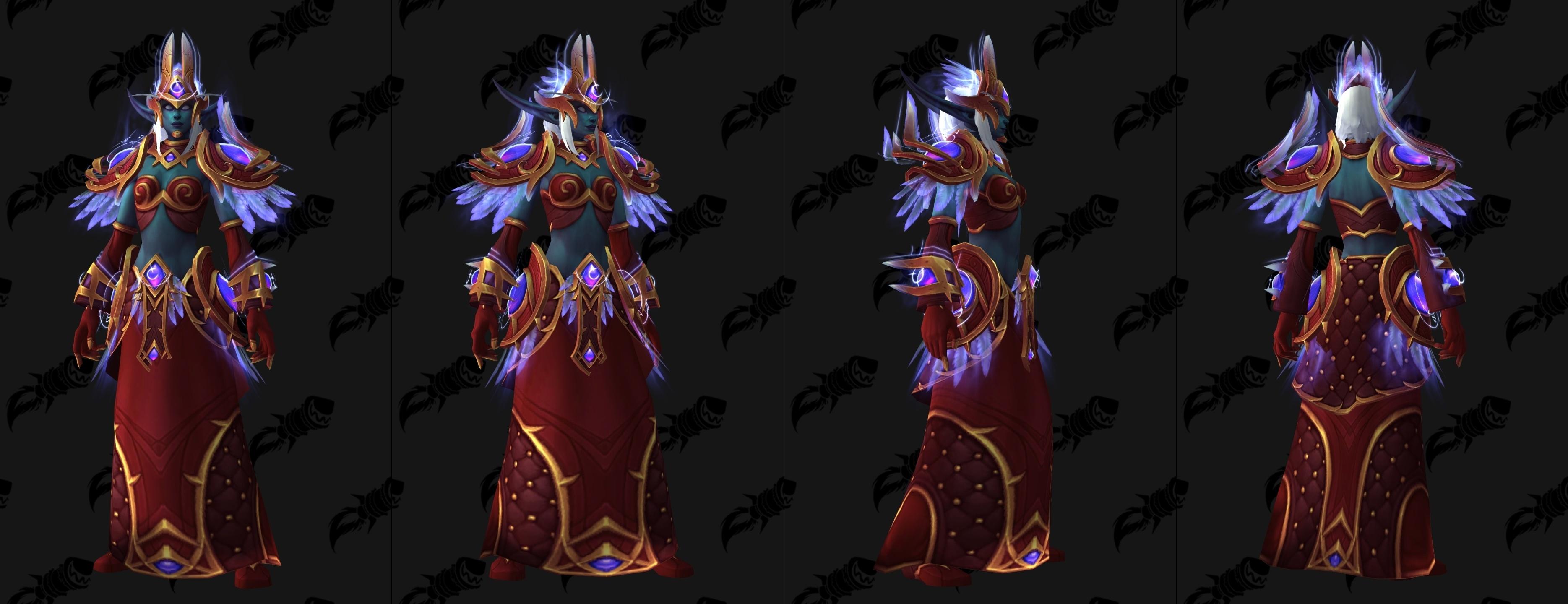 battle for azeroth - heritage armor