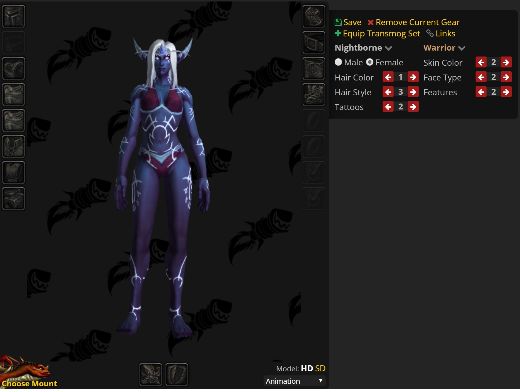 Allied Races Character Customization Now Available in