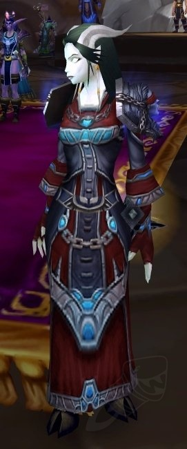 Vengeful Gladiator S Mooncloth Robe Item World Of Warcraft