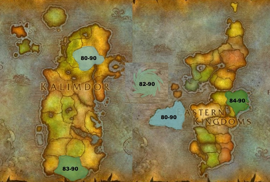 Leveling From 80 90 Cataclysm And Mists Of Pandaria Guides Wowhead