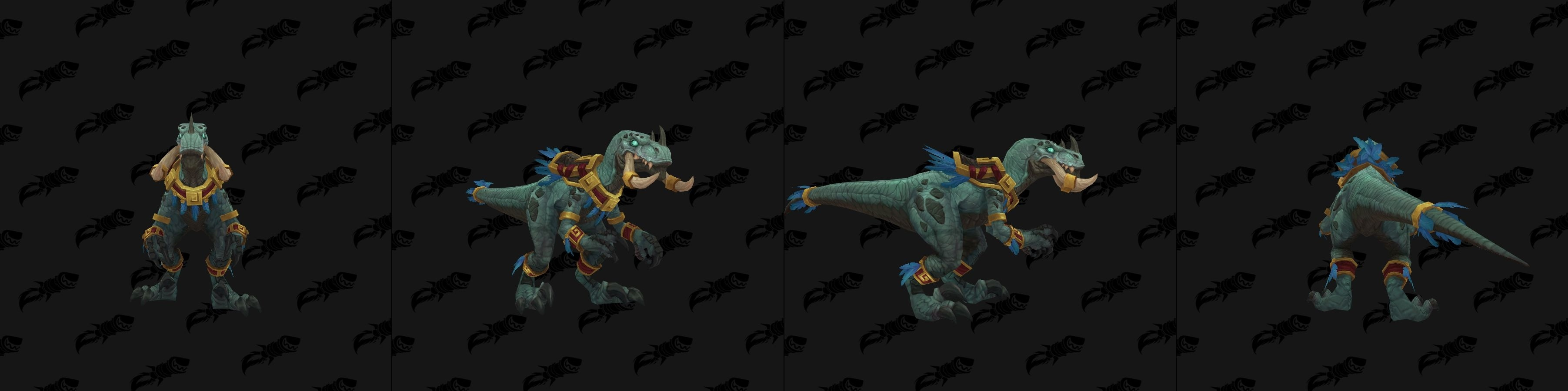 Zandalari Troll Male and Female Allied Race Customization Options