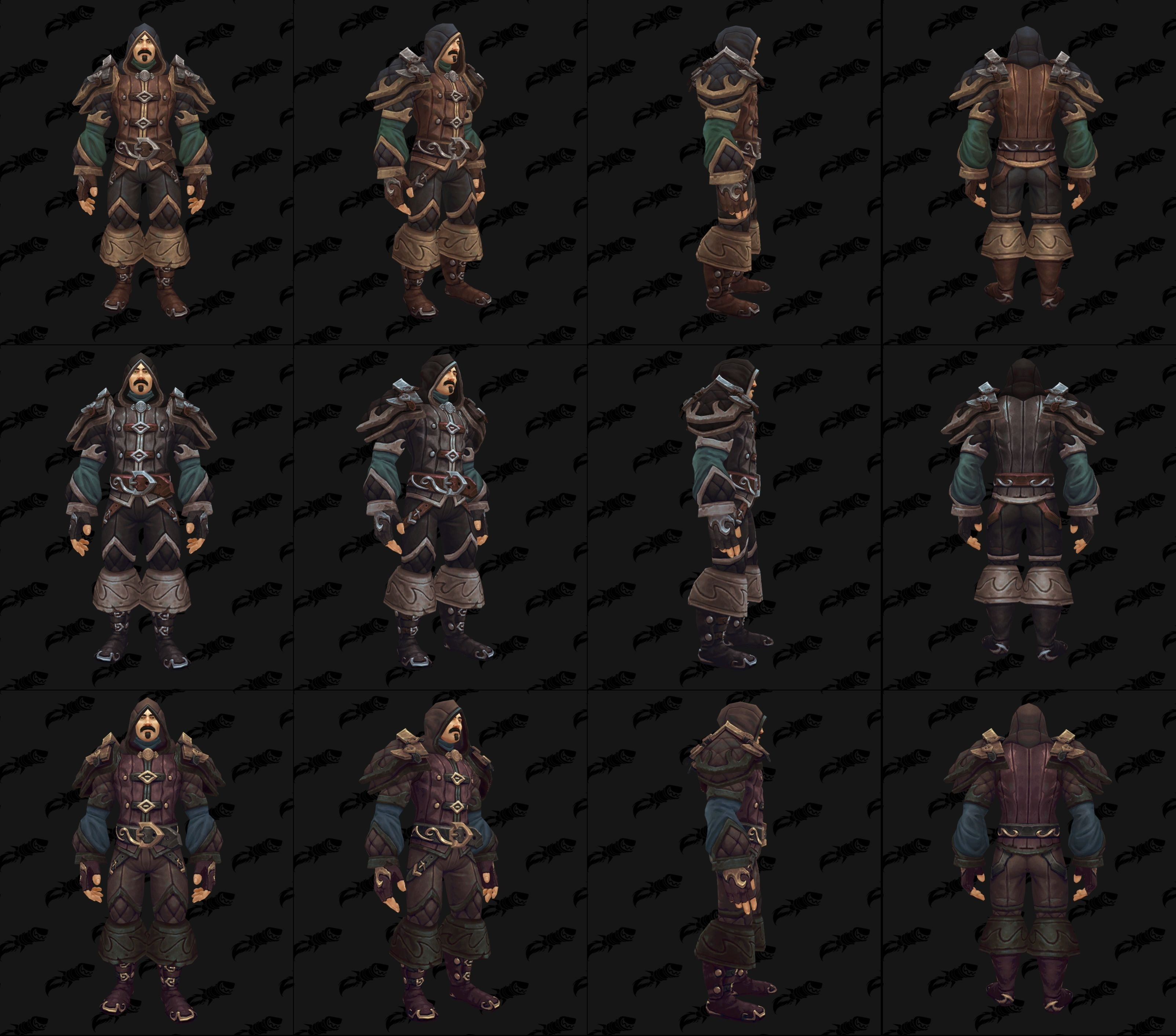 The Kul Tiran Levelling Leather Gear Actually Looks Like Something A Rogue Would Wear