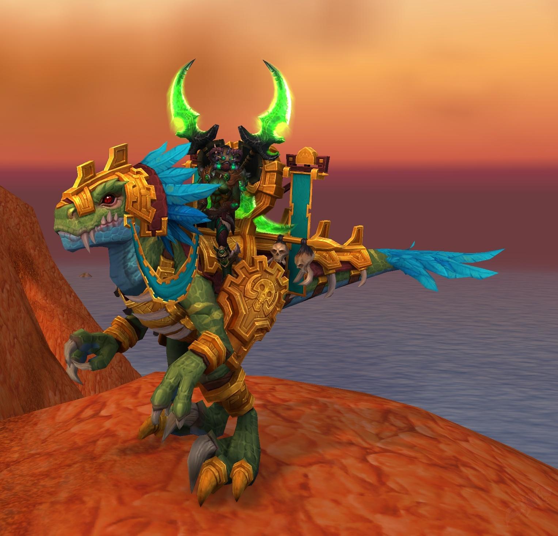 Gilded Ravasaur Item World Of Warcraft