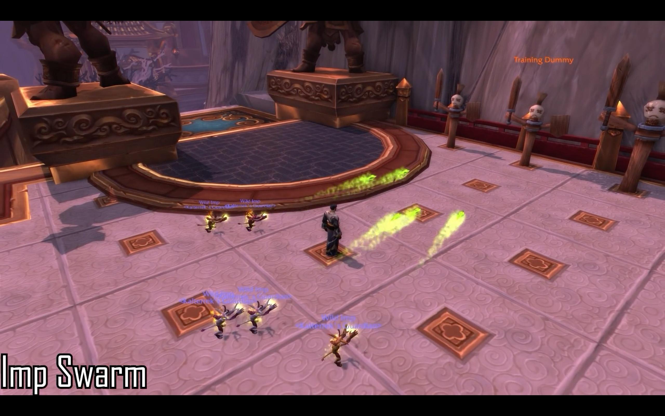 Demonology Warlock Spell Animations - Battle for Azeroth