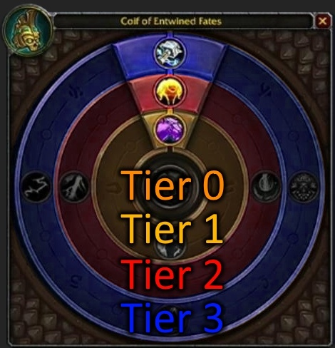 Heart of Azeroth - Azerite Traits in 26175 for DK, Paladin