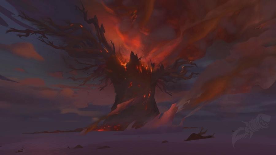 teldrassil burning