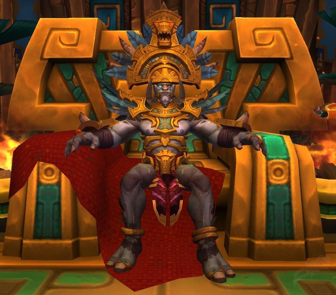 king rastakhan npc world of warcraft