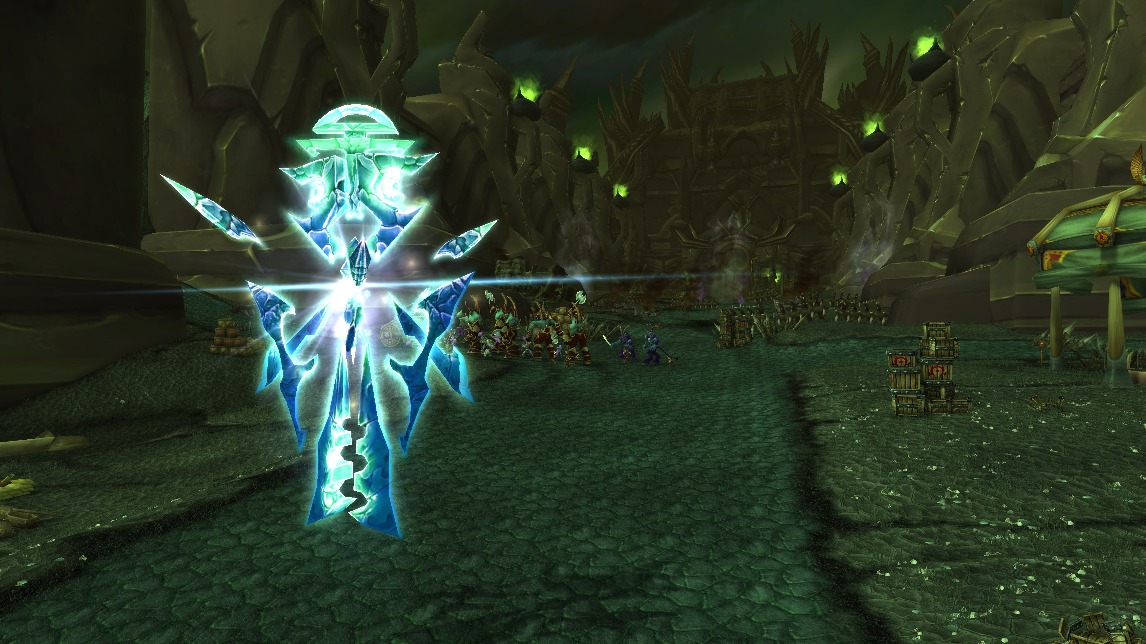 Entry Into The Black Temple Quest World Of Warcraft