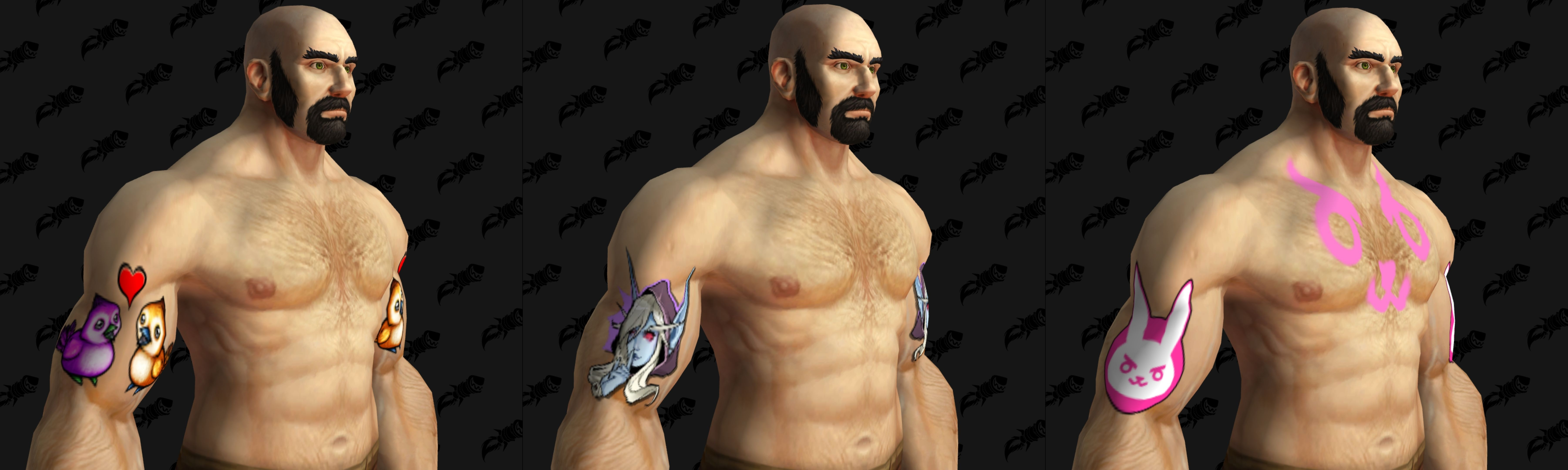 Battle For Azeroth 40118 Updates Tattoo Customization