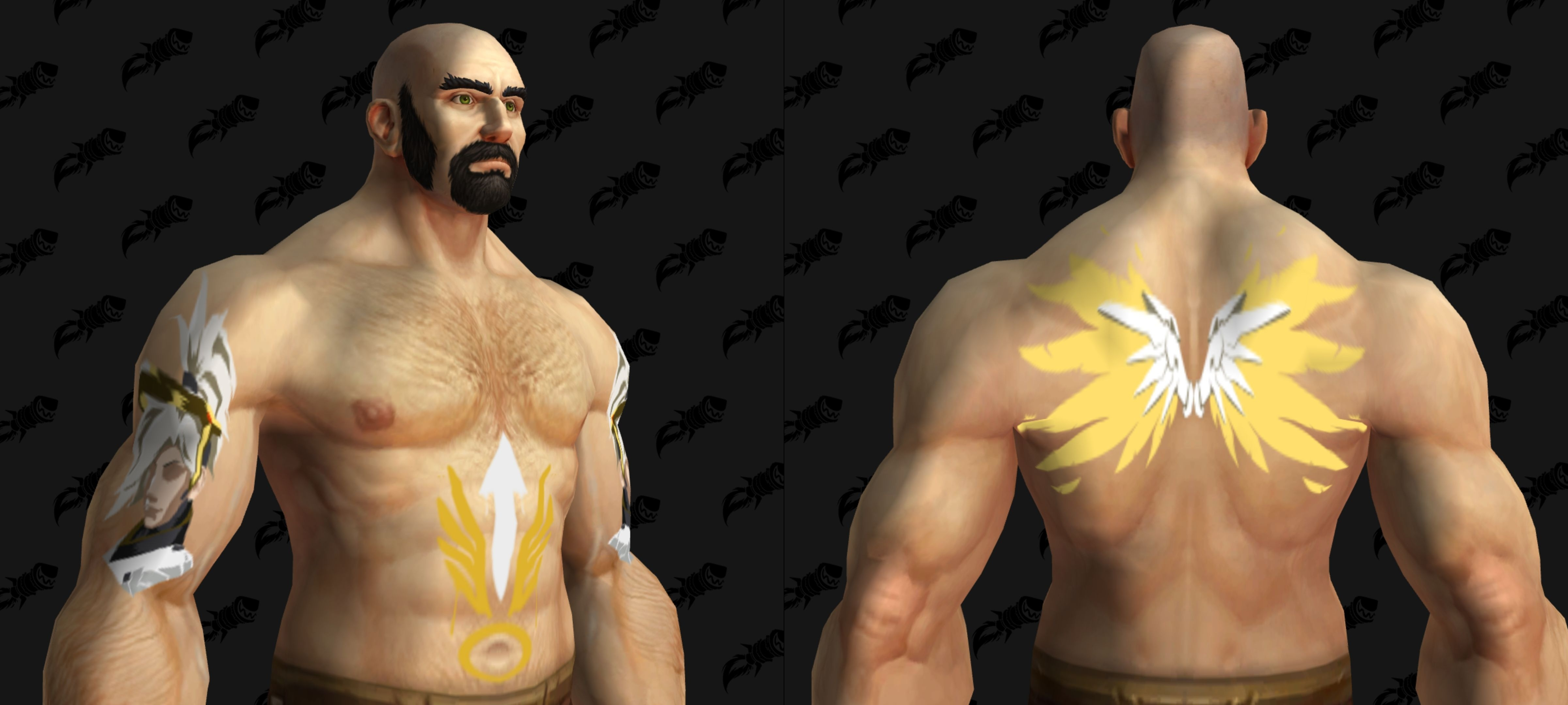 60b8958d4 Try out these tattoos and design the perfect transmog around them in the  Wowhead Dressing Room!