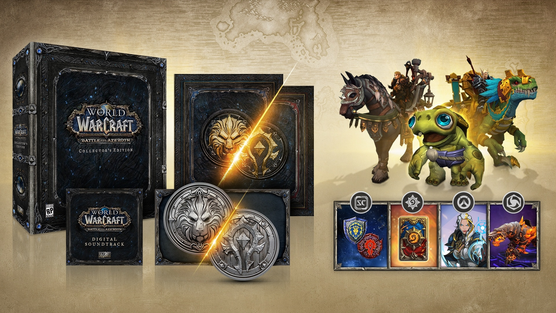 battle for azeroth collector s edition rewards and faq wowhead news