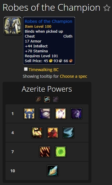 Battle for azeroth item level and stat scaling changes wowhead news.