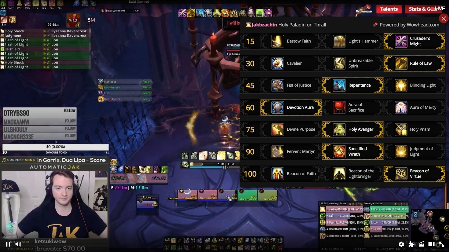 Wowhead's Twitch Extension Now Live - Talent and Gear Overlay for