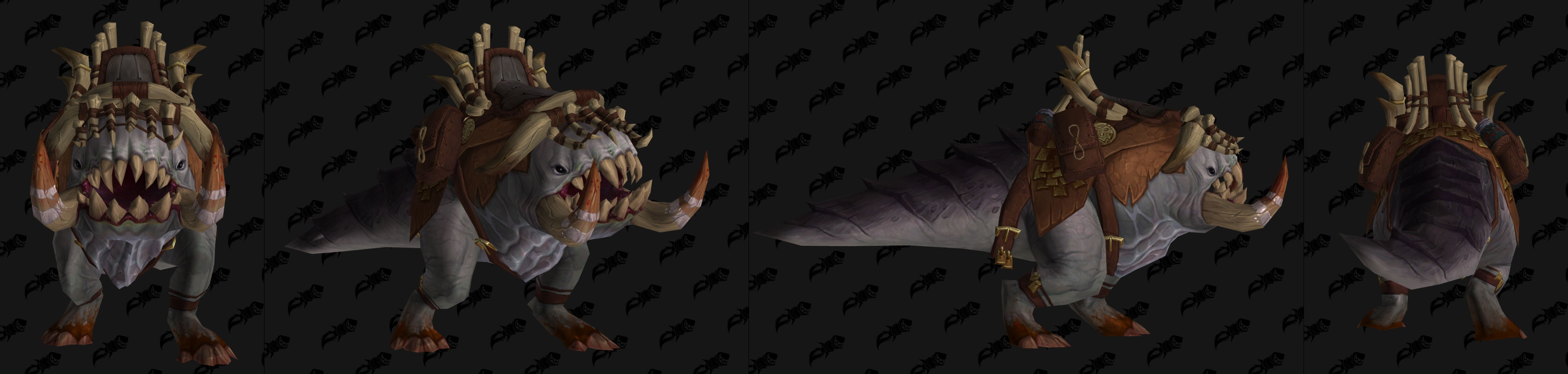 Battle for Azeroth Mount Models - Wowhead News