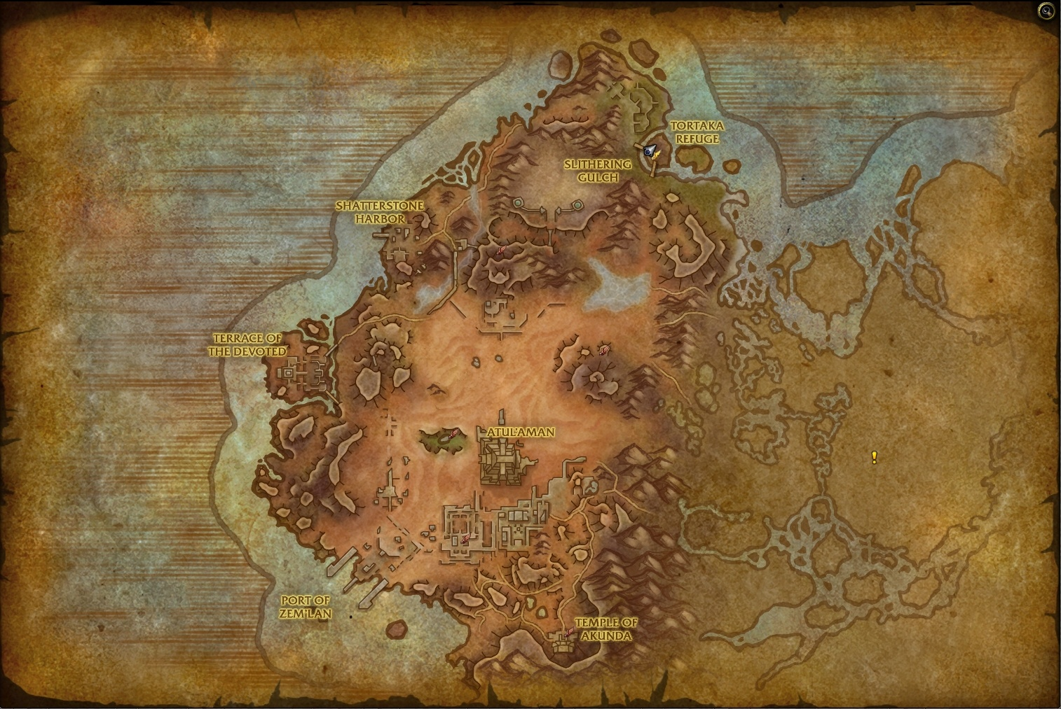 Battle for Azeroth Alpha Preview: Zone Maps - Wowhead News