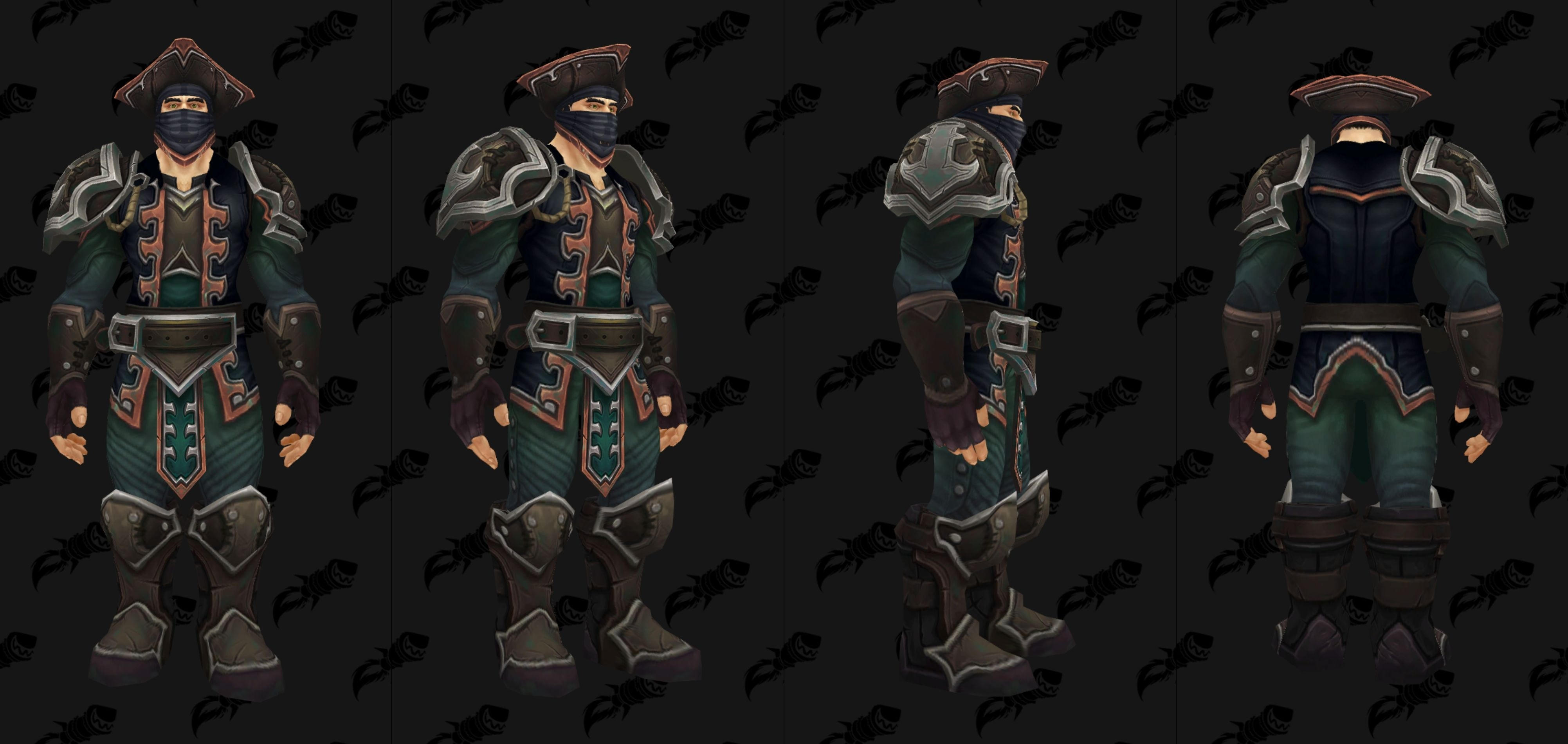 Battle for Azeroth Dungeon Armor - Leather Kul Tiras and