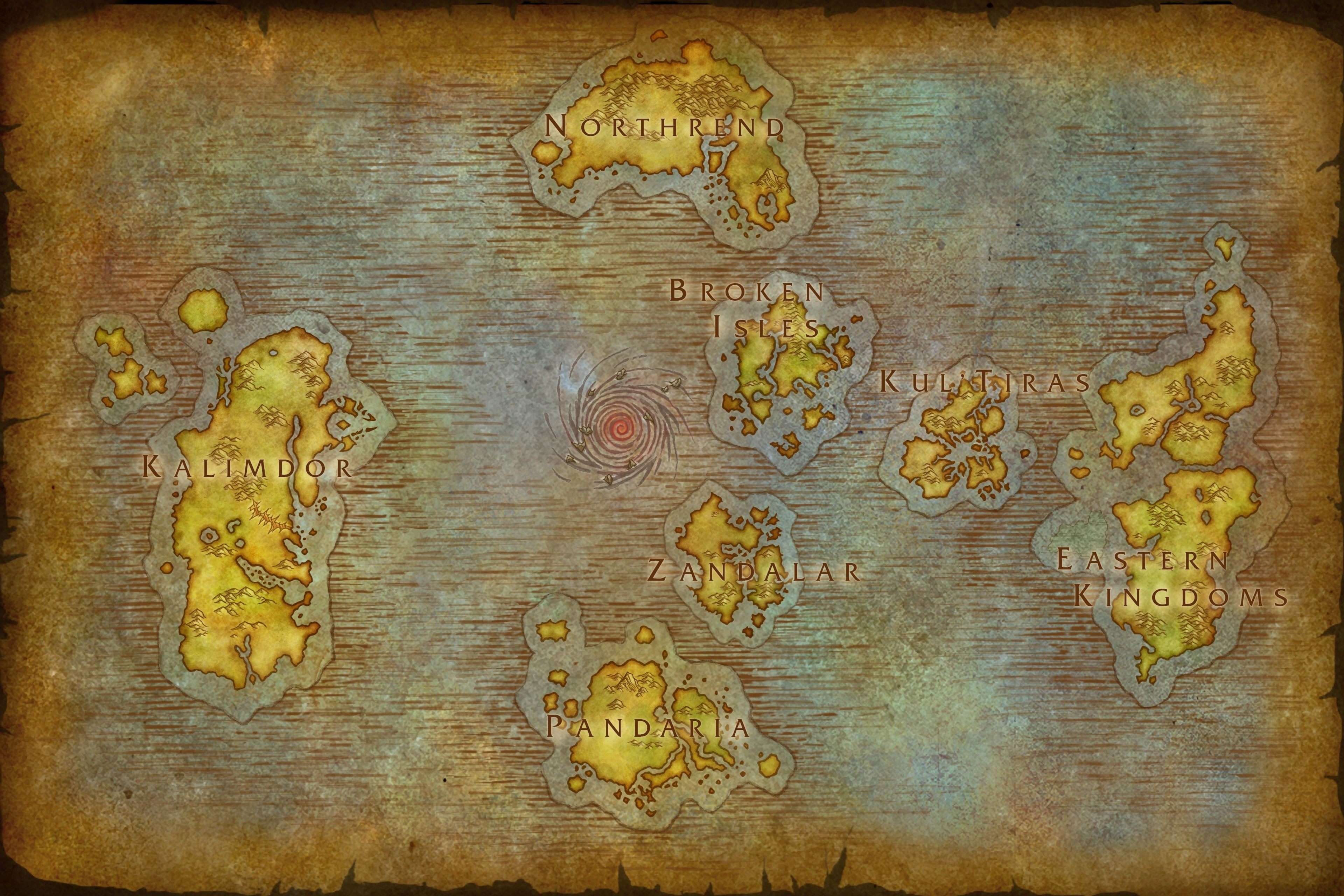 Battle For Azeroth World Map Battle for Azeroth Beta 26567   Kul Tiras, Zandalar and World Maps