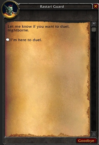 Wow Guild Application Template